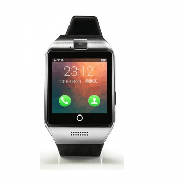 Bluetooth intelligent Watch NFC Support SIM card Memory card With camera silver one size