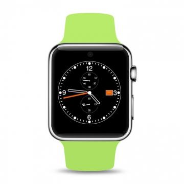 Intelligent Bluetooth Watch intelligent Wear wristband fashion trend Step Heart rate Watch green one size