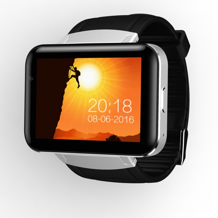Intelligent Bluetooth  Watch Long Standby waterproof outdoor intelligent wristband silver one size