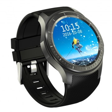Intelligent Watch Full Circle Screen Andrews IOS General  WIFI GPS 4G Call Heart Rate Monitoring black one size
