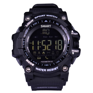 Intelligent Bluetooth Watch Outdoor Movement Depth Waterproof Remote Control Take Pictures black one size