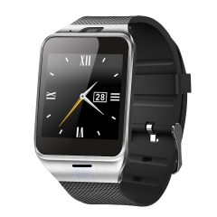 Intelligent Bluetooth Watch Mobile phone NFC   Take pictures Step Wear Watch black one size