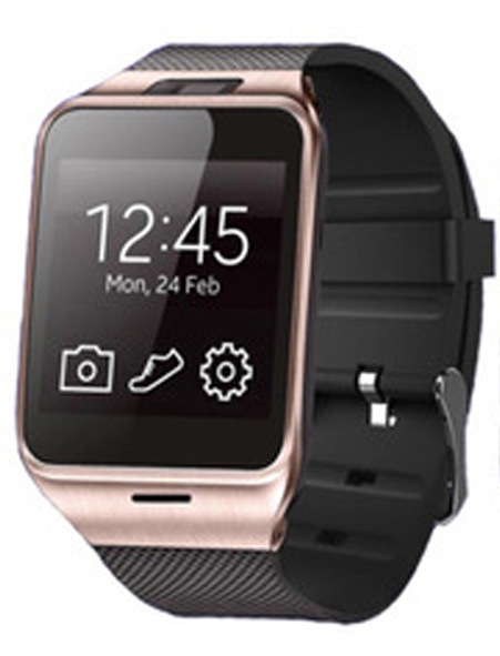 Intelligent Bluetooth Watch Mobile phone NFC  Take pictures Step Wear Watch gold one size