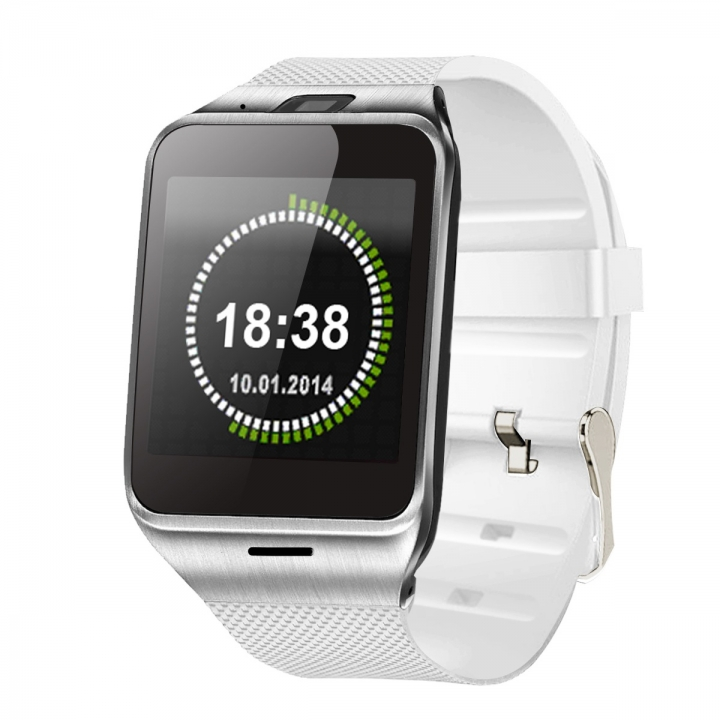 Intelligent Bluetooth Watch Mobile phone NFC   Take pictures Step Wear Watch white one size