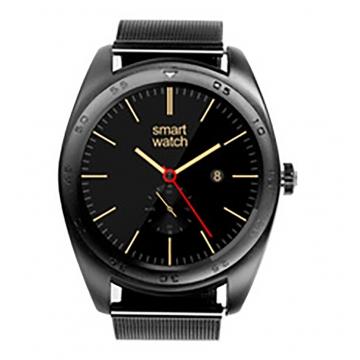 Intelligent Bluetooth Watch Heart rate Step Sleep monitor TF call intelligent Watch black strip one size