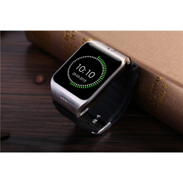 Intelligent Step Heart Rate Card Bluetooth Watch Stand By SIM TF NFC Features black one size