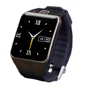 Positioning Intelligent Bluetooth Watch Two-way Call Dual Frequency Step Fashion Watch black one size
