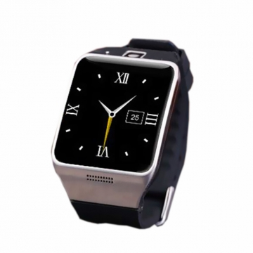 Positioning Intelligent Bluetooth Watch Two-way Call Dual Frequency Step Fashion Watch silver one size
