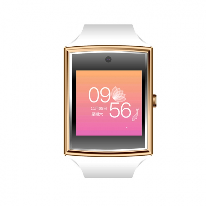 Card Intelligent Bluetooth Watch Oversized Full Touch HD Screen 3D Surface Design white one size