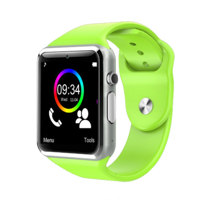 Intelligent Bluetooth Watch NFC TF Take pictures Card Step Sleep sleep wristband green one size
