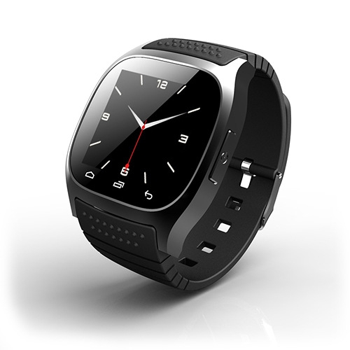 Intelligent Bluetooth Watch  compatible Dual system Step Heart rate Multifunction wristband black one size