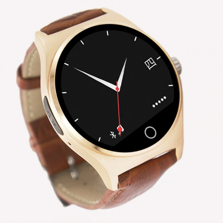 Intelligent Watch Heart rate monitor Bluetooth Watch Pedometer Remotely Take pictures gold one size