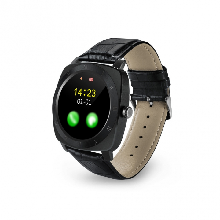Full Circle Screen Intelligent Watch Bluetooth Call Take Pictures Call Card Touch Screen Watch black one size