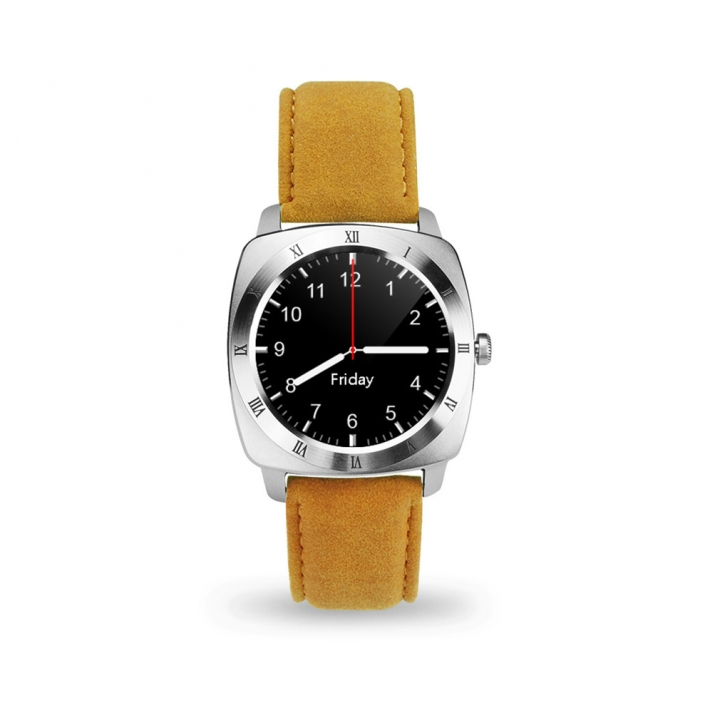 Full Circle Screen Intelligent Watch Bluetooth Call Take Pictures Call Card Touch Screen Watch silver one size