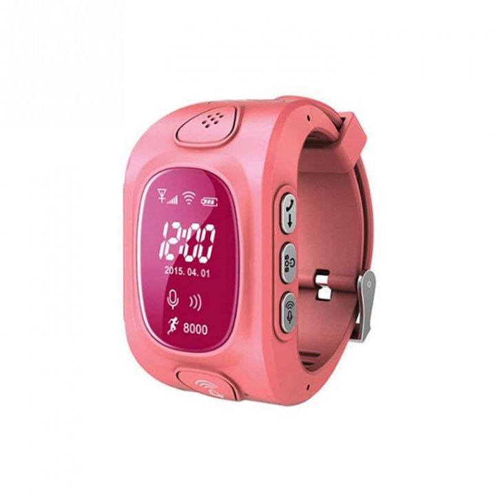 Child Positioning Bluetooth Watch GPS base station WiFi triple intelligent Positioning child Watch red one size