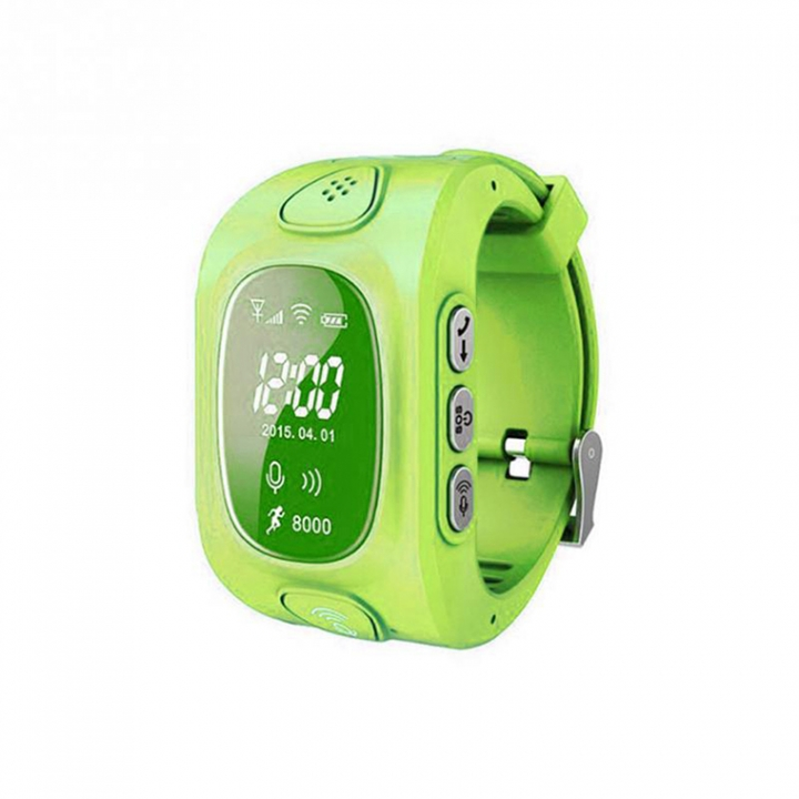 Child Positioning Bluetooth Watch GPS base station WiFi triple intelligent Positioning child Watch green one size