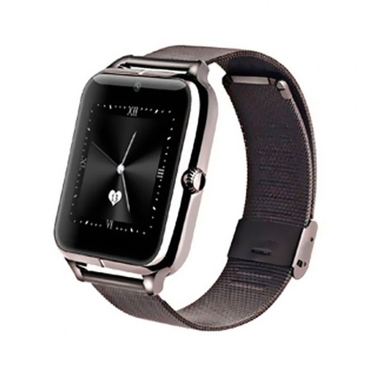 Bluetooth intelligent Watch Full view IPS screen All metal Straps Support SIM card call black one size