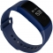Intelligent Dynamic Heart Rate Blood Oxygen Blood Pressure Monitoring Waterproof Wristband blue one size