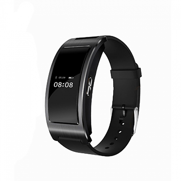 Intelligent Bluetooth Wristband Heart Rate Blood Pressure Sleep Monitor Step Calories Watch black one size