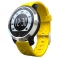 Movement Intelligent Swim Waterproof Heart Rate Step Bluetooth Wristband yellow one size