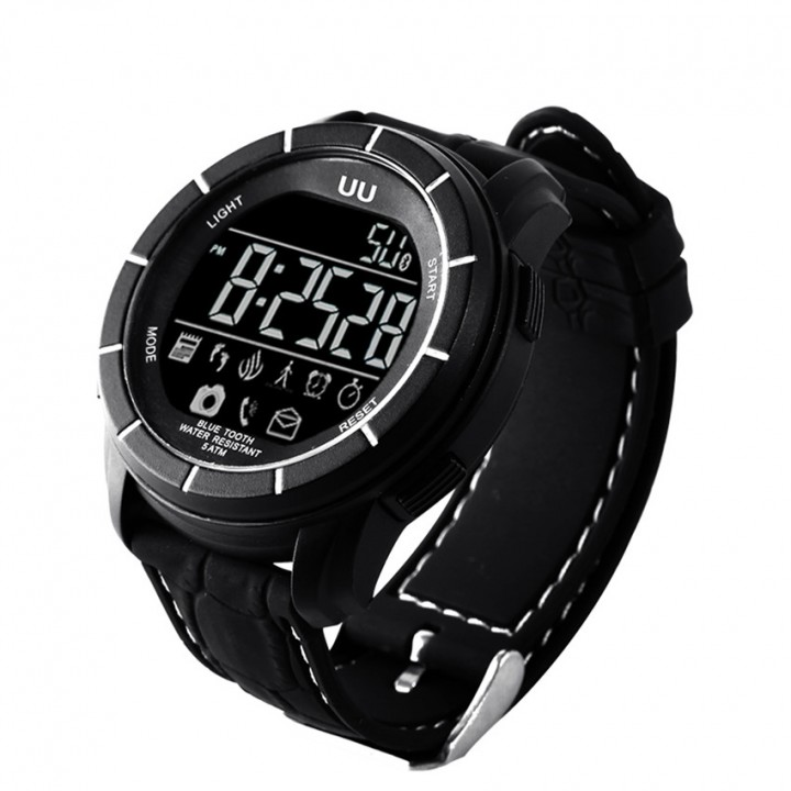 Intelligent Watch  Bluetooth  Anti-lost Remote control Take Pictures Waterproof Step Wristband black one size