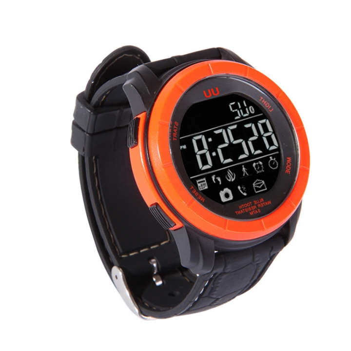 Intelligent Watch  Bluetooth  Anti-lost Remote control Take Pictures Waterproof Step Wristband orange one size