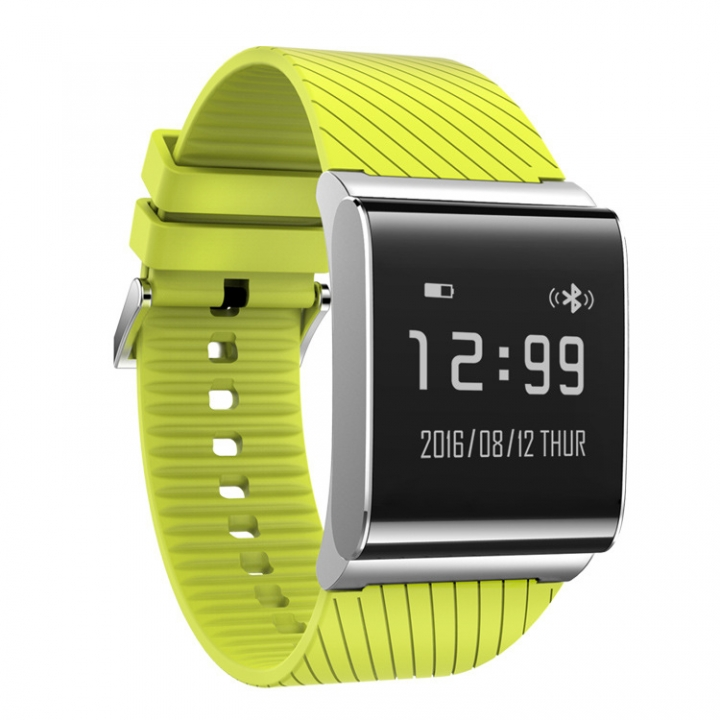 Intelligent Heart Rate Wristband Waterproof Keep Pace Sleep Monitor SMS Display Intelligent Wear green one size