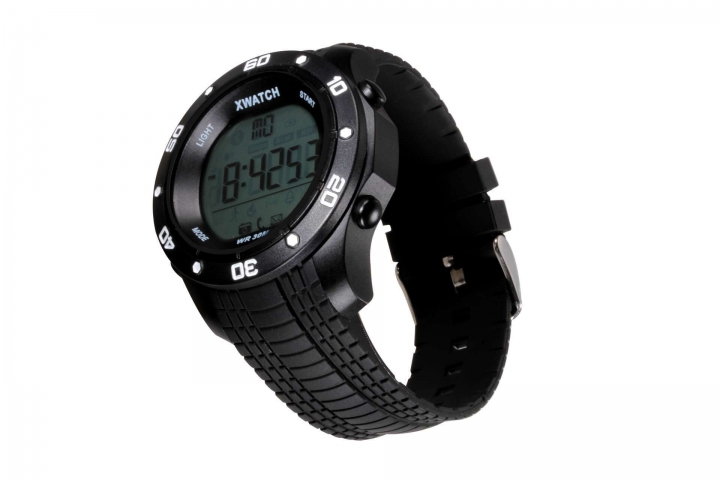 Intelligent Bluetooth Push Step 2 Years Standby Health Management Depth Waterproof Watch black one size