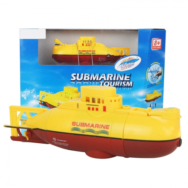 Innovation Toy remote Control Submarine Child toy Magical Fashion Toy yellow 15*6.8*4.5