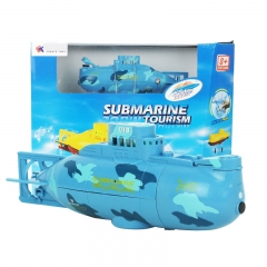 Innovation Toy remote Control Submarine Child toy Magical Fashion Toy blue 15*6.8*4.5