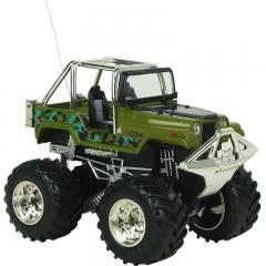 Innovation Toy Remote Control Car Mini SUV Charging Big Car Child Toy Model green 9.5*7.5*6.7