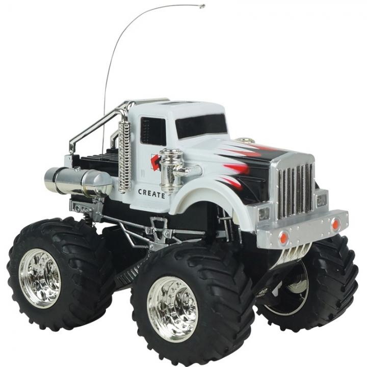 Innovation Toy Remote Control Car Mini SUV Charging Big Car Child Toy Model white 9.5*7.5*6.7
