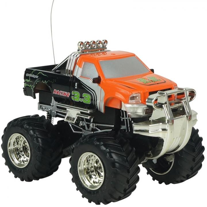 Innovation Toy Remote Control Car Mini SUV Charging Big Car Child Toy Model orange 9.5*7.5*6.7