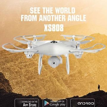 Four Axes Remote Control UAV Air Pressure Set High WIFI Aerial Photography UAV white 31.5*31.5*13cm