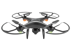 Four Axes Remote Control UAV Air Pressure Set High WIFI Aerial Photography UAV black 31.5*31.5*13cm