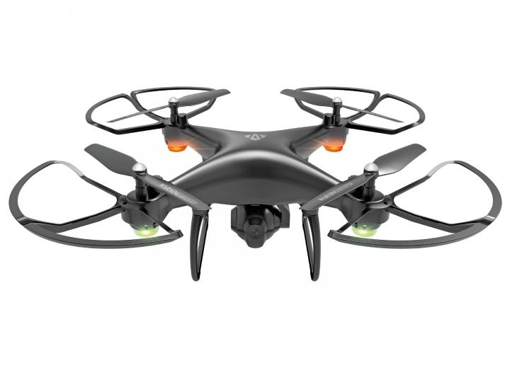 Four Axes Remote Control UAV Air Pressure Set High WIFI Aerial Photography UAV black 31.5*31.5*13cm