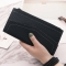 Ms Long Section Wallet Retro Lady Bags Coin Purse Fashion Ms Hand Bag black one size