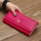 The New Purse Ms Wallet Western Style Fashion Hand Bag Female Wallet Wallet rose red one size