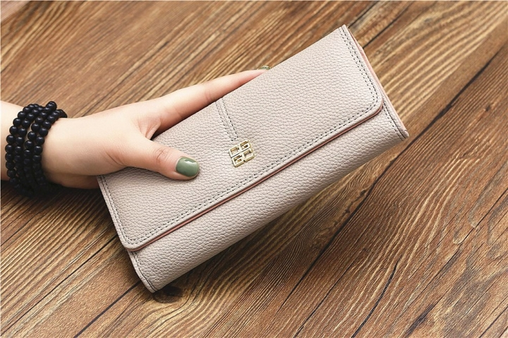 The New Purse Ms Wallet Western Style Fashion Hand Bag Female Wallet Wallet golden one size