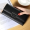 Ms Long Section Trend Buckle Hand Bag Western Style Fashion Multifunction Wallet black one size