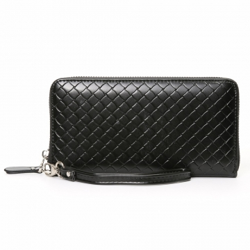 Men Long Section Wallet Business Multifunction Handbag Men High Capacity With A Hand Rope Hand Bag black one size