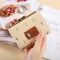 Fold Ms Wallet Short Section Three Fold Lovely Girl Student Wallet Fashion Coin Purse apricot one size