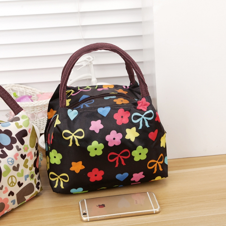 Oxford Waterproof Portable Lunch Bag Mummy Packs Canvas Lady Bags Lunch Bag Small Cloth 3 one size