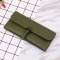 Student Simple Small Fresh Ultra Thin Western Style Coin Purse Multifunction Three Fold Wallet dark green one size