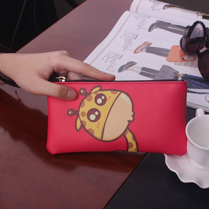 The New Graffiti Lovely Zipper High Capacity Mobile Phone Bag Hand Bag Long Section Ms Wallet 4 one size