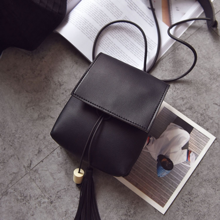 Small Square Bag Ms Oblique Cross Fashion Lady Bags Retro Shoulder Bags Messenger Bag black one size
