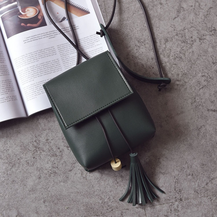 Small Square Bag Ms Oblique Cross Fashion Lady Bags Retro Shoulder Bags Messenger Bag green one size
