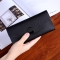 Female Wallet Student Lovely Wild Western Style Ultra Thin Mini Small Fresh Multi-Card Bit Wallet black one size