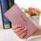 The New Ms Wallet Long Section Original Scrub Ultra Thin Retro Wallet Card Pack ligth pink one size