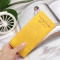 Ms Wallet Card Pack Ultra Thin Scrub Retro Fashion Leisure Student Wallet yellow one size